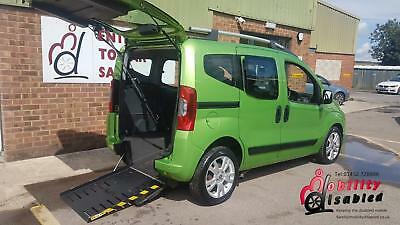 2011 Fiat Qubo Diesel Auto Disabled Wheelchair Accessible Up Front Passenger