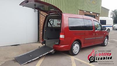 2009 VW Caddy Maxi Life Diesel Wheelchair Disabled Accessible Vehicle