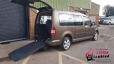 2012 VW Caddy Maxi Life Manual Wheelchair Disabled Accessible Vehicle 7 seats