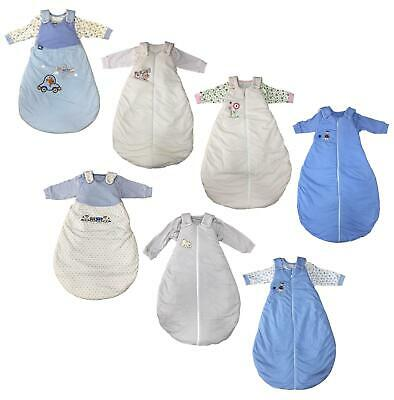 Baby Sleeping Bag 2Pc Set Boys Girls Ex Store Bag & Sack 1-18M Tog 2.5 New