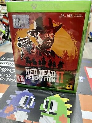 Red Dead Redemption 2 Ita XBox One NUOVO SIGILLATO