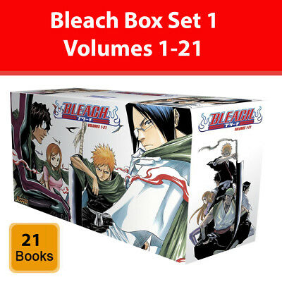 Bleach Box Set 1 Volumes 1-21 Complete Collection books Set Anime & Manga Pack