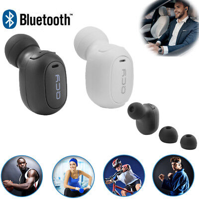 Mini Wireless Bluetooth Stereo Music Headset In-Ear Earphones Earbuds with Mic