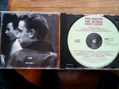 cd smiths the world wont listen Germany import