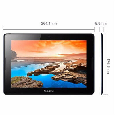 Lenovo Tab A10 10.1 Inch 16GB WiFi/3G Android Tablet - Black
