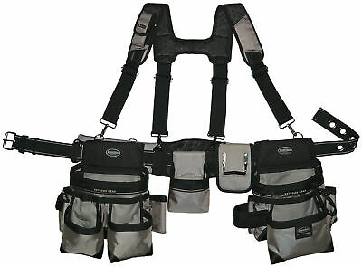 """Bucketboss Mullet Buster Rig Tool Belt fits waists up to 52"""" 55135"""