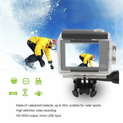 4K WIFI Action Camera Waterproof 2-inch LCD 170 Degree Remote Control WiFi BV