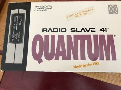 """QUANTUM RADIO SLAVE 4i Great Condition and a Workhorse""""D"""" Frequency NEW"""