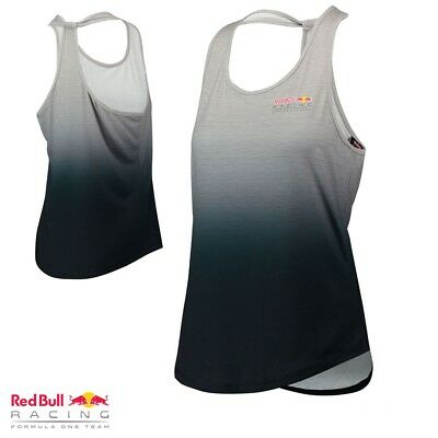 Puma Red Bull Women's Back Sports Vest Official F1 Racing Team Grey RRP £45 NEW