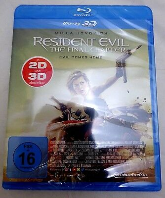 Resident Evil:The Final Chapter 2D & 3D  Blu-ray X45-EB9017