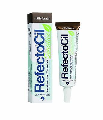 RefectoCil Sensitive Mittelbraun15ml Wimpernfarbe