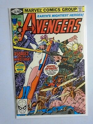 Avengers (1st Series) #195, 6.0 - 1980, 1st (Cameo) Appearance of the Taskmaster