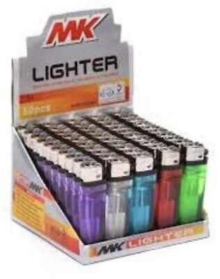 50 MK Classic Full Size Cigarette Lighter Disposable Lighters Wholesale Lot