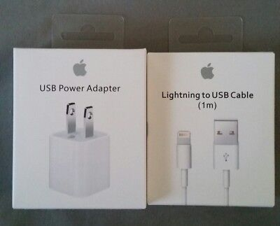 Genuine Original Apple Lightning to USB Charger Cable For iPhone 5/6/7/8/X