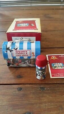 Hallmark Keepsake 2 Ornaments 2004 Looney Tunes Lunch Wagon For Porky Pig