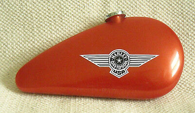 HARLEY-DAVIDSON, BY WATERMAN - RED & SILVER ROLLERBALL PEN w. 'GAS TANK' CASE