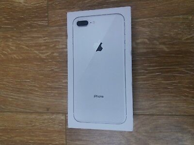 Genuine Official Apple iPhone 8 Plus 5.5 Box Silver