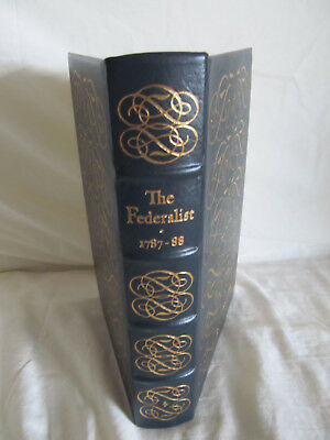 """The Easton Press """"The Federalist 1787-1788"""" One hundred Greatest-leather"""