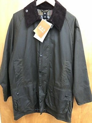 Classic Wax Coat Barbour Size 38 New Nwt Beaufort Mens Jacket SEWBqOIO f5c773a221e