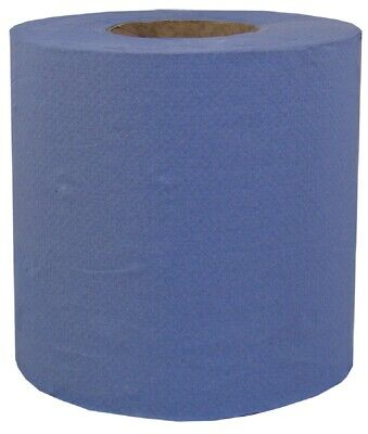 Blue Roll Centrefeed Industrial Roll 80m 2Ply Blue (Qty 1) Absorbent Paper Roll