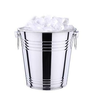 3L/5L Stainless Steel Champagne Metal Party Bowl Wine Beer Ice Cooler Bucket