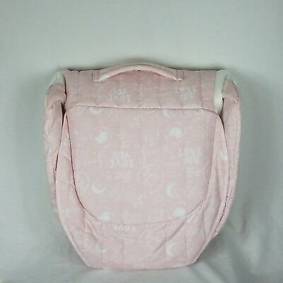 Baby Delight Snuggle Nest Surround Portable Infant Sleeper Pink Baby Travel Bed