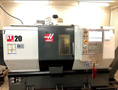 "Used 2012 Haas ST-20T CNC Turning Center Lathe Tailstock 8"" Chuck Tool Setter"