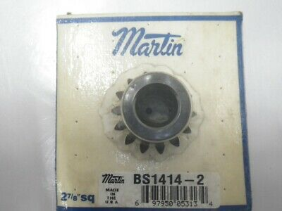 "BS1414-2 Martin Worm Gear 2 7/8""sq (New in Box)"