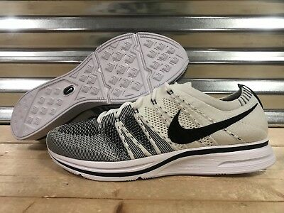 Nike Flyknit Trainer Shoes Oreo The Return Cookies and Cream SZ ( AH8396-100 )