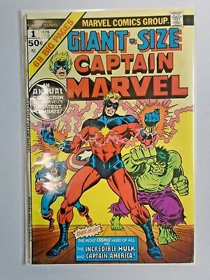 Giant Size Captain Marvel #1 - see pics - 5.0 - 1975