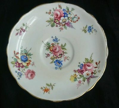 Hammersley Floral Rose Bone China Candy/trinket Dish England