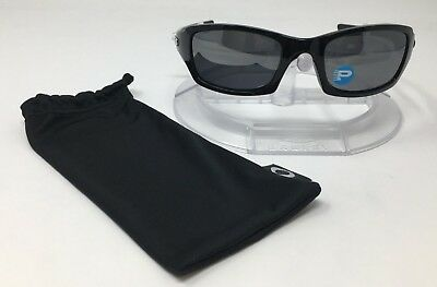 AUTHENTIC Oakley Men's Fives Squared Polarized Black Rectangle OO9238-06