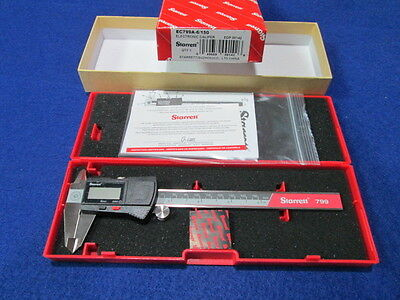 "Starrett Ec799A-6/150 0-6"" Digital Caliper New"