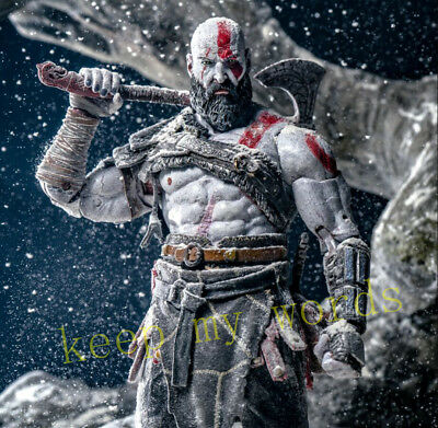 NECA Original New God of War 4 Kratos PVC 18cm Action Figure For Collection Gift