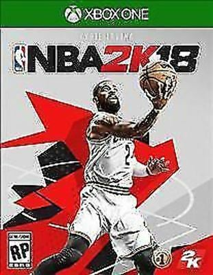 NBA 2K18 18 2018 USED SEALED (Microsoft Xbox One, 2017)