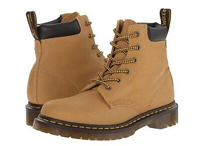 1e10234306 DR.MARTENS 939 6-EYE Hiking Leather Boots Light Brown WOMENS SZ 11 US