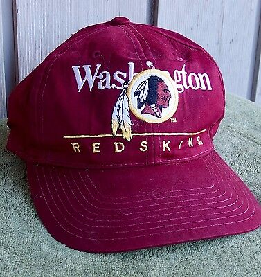a4b3f696a19 VINTAGE NFL WASHINGTON Redskins Snapback Trucker Dad Hat Baseball ...