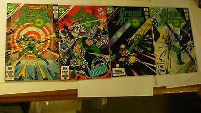Green Arrow 1-4 Mini Series complete set 1983 DC Origin of Green Arrow Z33