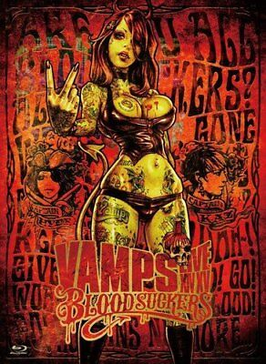 VAMPS LIVE 2015 BLOODSUCKERS First Limited Edition Blu-ray HYDE L'Arc~en~Ciel