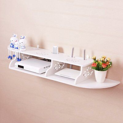 Floating Shelves Wall Mounted Shelf For TV Box/DVD Book Display Storage Board