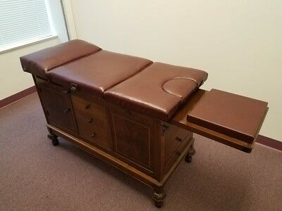 1930's Antique Chiropractic Examination Table Hamilton Medical. Great Condition.
