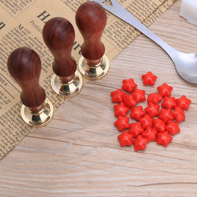 100Pcs Sealing Wax Beads For Paint Seal Stamp Envelope Invitation Greeting Cards