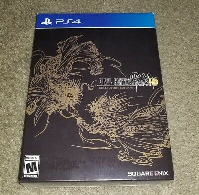Final Fantasy Type-0 HD Collector's Edition BNIB SEALED PS4
