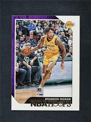 ea26e3d9d05 2018-19 PANINI HOOPS Base #185 Brandon Ingram - Los Angeles Lakers ...