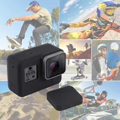 PULUZ Camera Silicone Protective Case with Lens Cover for Gopro Hero 5 PC