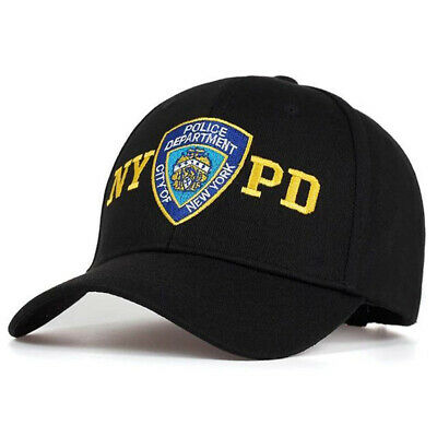 Mens NYPD Embroidery Baseball Cap Snapbacks New York Police Department Hat New