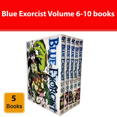 Blue Exorcist Kazue Kato (Series 2) Volume 6-10 5 Books set collection NEW Book