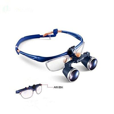 Dental 3.5X420mm Binocular Galileo Medical Frame Loupe Magnifier Glasses FD-503G