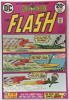 The Flash #223. (Oct 1973) Doctor Light Vfn (8.0)