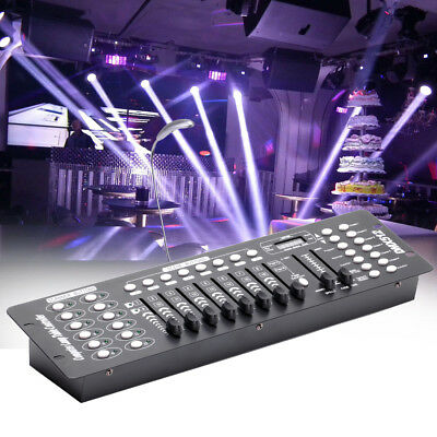 DMX Controller 192 Channels DMX-512 Stage Light Console for DJ Disco Bar Party